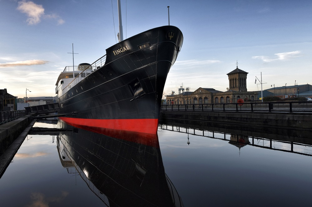 Fingal – A Luxury Floating Hotel