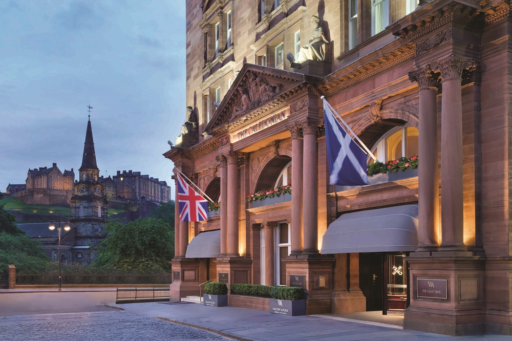 The Waldorf Astoria Edinburgh – The Caledonian